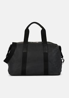 Barneys New York Men's Leather Duffle Bag - Black
