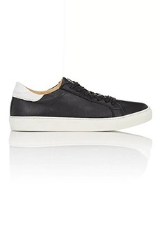 Barneys New York Men's Leather Low-Top Sneakers