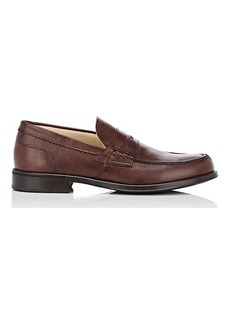 Barneys New York Men's Leather Penny Loafers