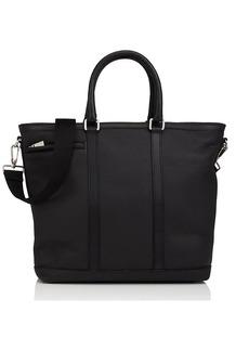 Barneys New York Men's Leather Top-Zip Tote Bag