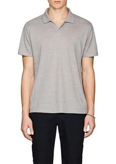 Barneys New York Men's Linen-Blend Polo Shirt