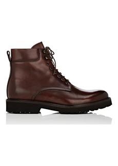 Barneys New York Men's Lug-Sole Leather Boots