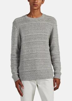 Barneys New York Men's Mixed-Knit Alpaca-Wool Sweater