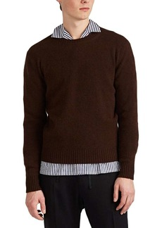 Barneys New York Men's Mélange Cashmere Crewneck Sweater