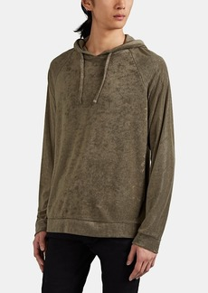 Barneys New York Men's Modal-Blend Reverse-Terry Hoodie