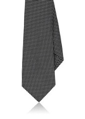 Barneys New York Men's Neat-Pattern Silk Necktie