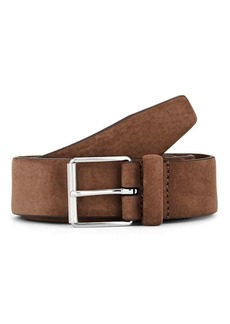 Barneys New York Men's Nubuck Belt