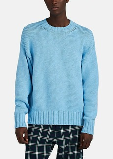 Barneys New York Men's Oversized Cotton Sweater