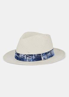 Barneys New York Men's Paper Hat