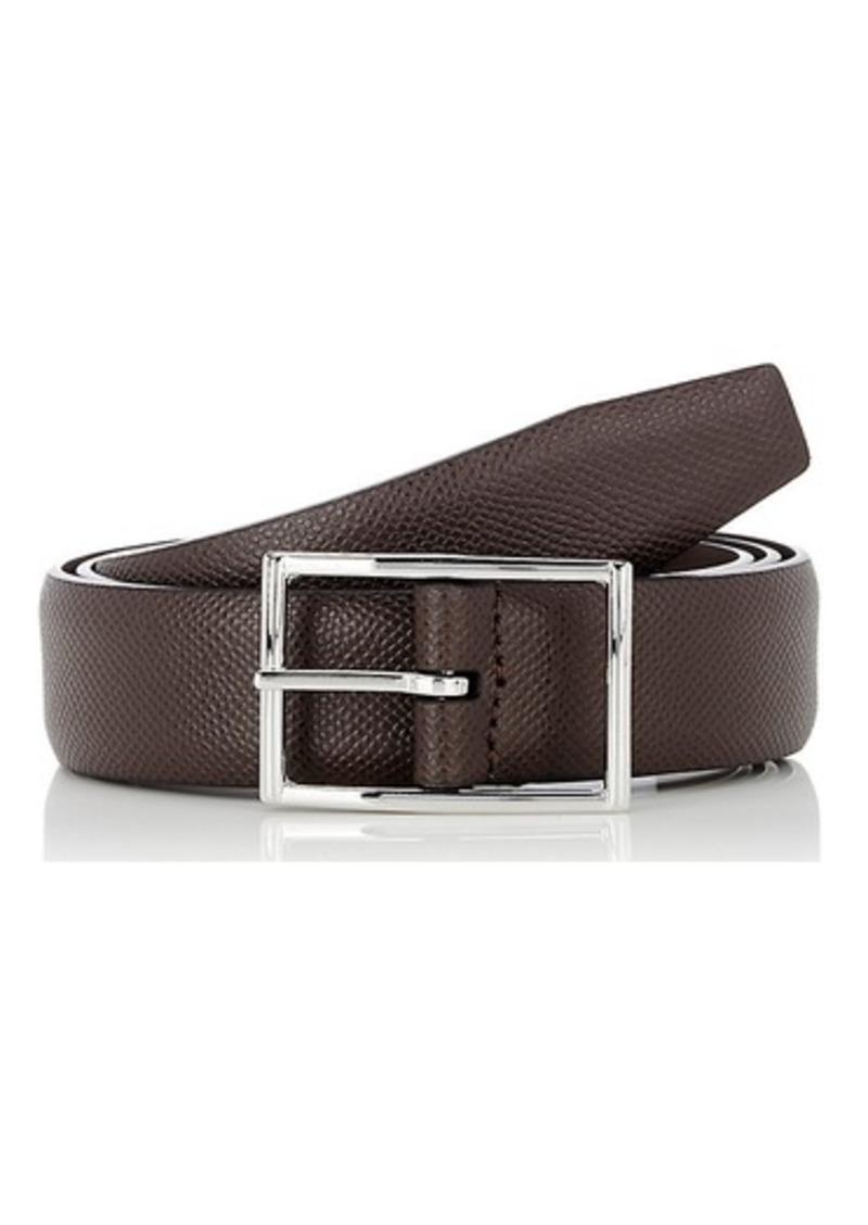 22b622b1a7b0e Barneys New York Barneys New York Men s Pebbled Leather Belt