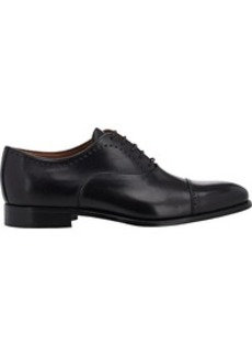 Barneys New York Men's Perforated Cap-Toe Balmorals