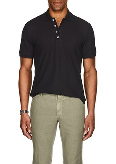 Barneys New York Men's Pima Cotton Polo Shirt