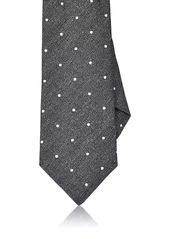 Barneys New York Men's Polka Dot Silk Necktie