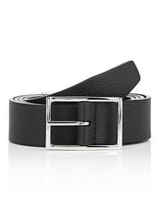 Barneys New York Men's Reversible Leather Belt
