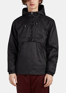 Barneys New York Men's Ripstop Half-Zip Jacket