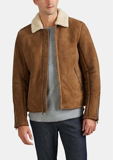 Barneys New York Men's Shearling Jacket