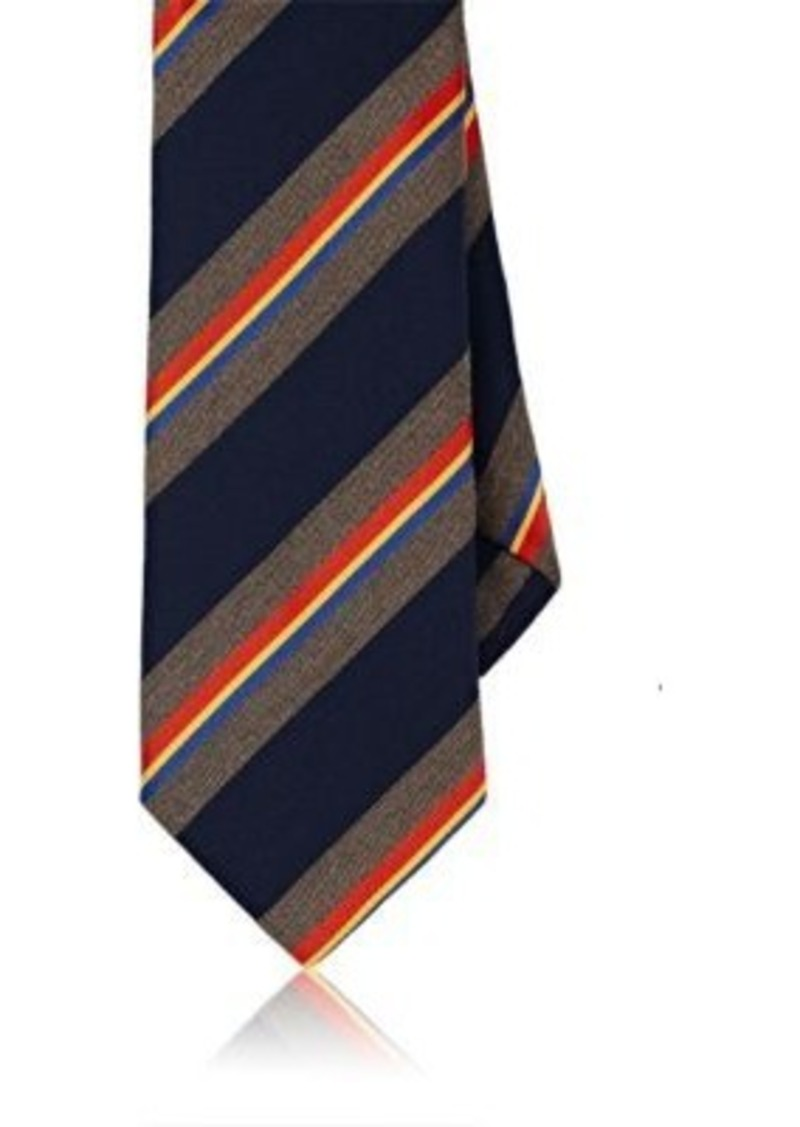 Barneys New York Men's Silk Repp Necktie