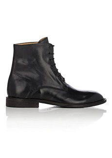 Barneys New York Men's Steven Washed Leather Chukka Boots