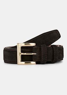 Barneys New York Men's Suede Belt