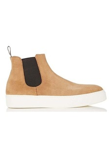 Barneys New York Men's Suede Chelsea Sneakers