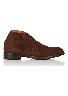 Barneys New York Men's Suede Chukka Boots