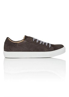 Barneys New York Men's Suede Sneakers
