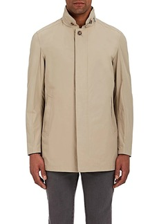 Barneys New York Men's Tech-Faille Coat