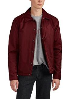 Barneys New York Men's Tech-Satin Coach's Jacket