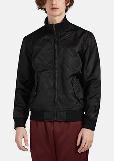 Barneys New York Men's Tech-Twill Bomber Jacket