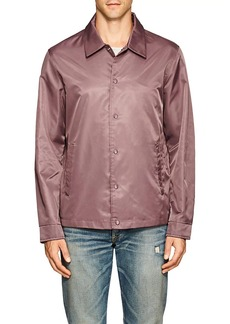 Barneys New York Men's Tech-Twill Coach's Jacket