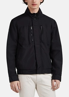 Barneys New York Men's Tech-Twill Hooded Jacket