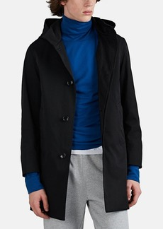 Barneys New York Men's Twill Balmacaan Trench Coat