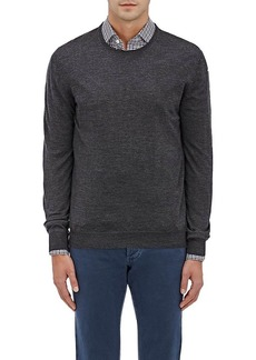 Barneys New York Men's Virgin Wool Crewneck Sweater