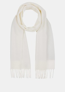 Barneys New York Men's Wool Fringe Scarf - Ivorybone