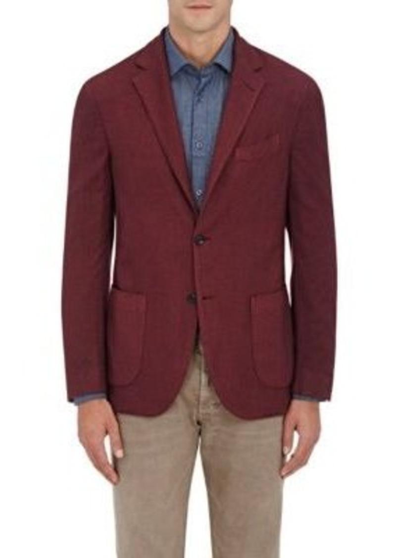 Barneys New York Men's Wool-Silk Two-Button Sportcoat