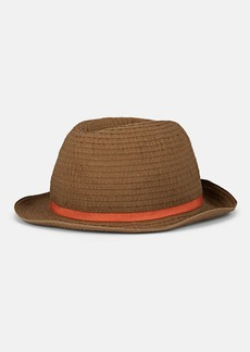 Barneys New York Men's Woven Cotton-Blend Hat
