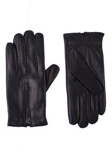 Barneys New York Men's Zip-Cuff Gloves