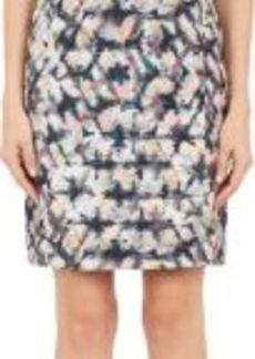 Barneys New York Women's Abstract Paint-Print Dori Dress