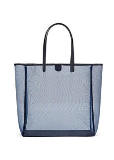 Barneys New York Women's Antigua Mesh Tote Bag - Navy