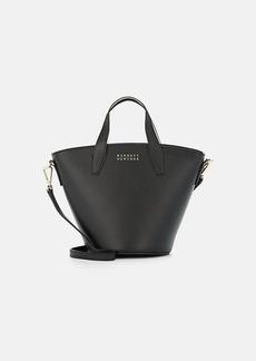 Barneys New York Women's Athena Leather Bucket Bag - Black