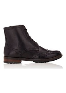 Barneys New York Women's Balmoral Combat Boots