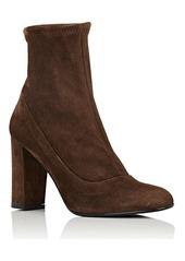 Barneys New York Women's Block-Heel Suede Ankle Boots