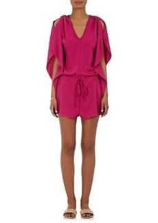 Barneys New York Women's Breezy Sleeveless Romper