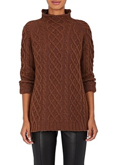 Barneys New York Women's Cable-Knit Cashmere Sweater