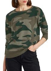 Barneys New York Women's Camouflage Cashmere Sweater