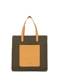 Barneys New York Women's Canvas Tote Bag - Green