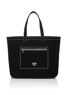 Barneys New York Women's Canvas Tote Bag - Black