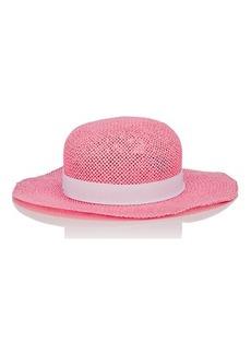Barneys New York Women's Carta Ritorta Straw Hat
