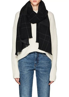 Barneys New York Women's Caruso Cashmere Scarf - Black
