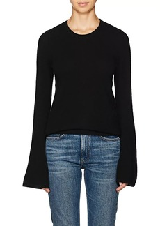Barneys New York Women's Cashmere Bell-Sleeve Sweater